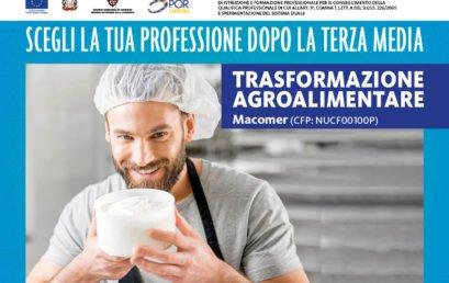 Operatore della trasformazione agroalimentare